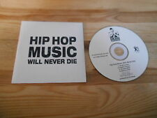 CD Hiphop Dean Dawson - Hip Hop Music : Will Never Die (4 Song) Promo X-CELL cb