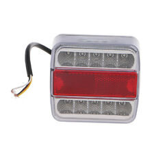 14 LED Truck Trailer Car Boat Caravan Rear Tail Light Stop Lamp Taillight DC 12V