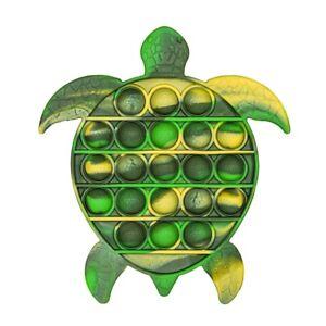 Silicone Fidget Turtle Toy push Popit Bubble Antistress Stress Reliver 152*146mm