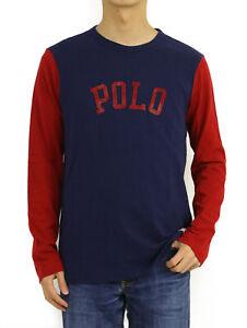 "Polo Ralph Lauren Crew Long Sleeve 3/4 ""POLO"" Baseball T-shirts"