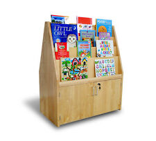 A+ Childsupply Double Sided Book Display with Doors