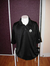 Canada National Football Team Polo Shirt Adidas Black Size XL Mundial World Cup
