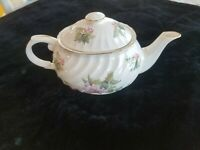 James Kent Old Foley Floral Twist Teapot