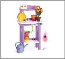 AMERICAN GIRL SUNSHINE GARDENING BENCH SET ~ NEW IN BOX ~ WITH ACCESSORIES