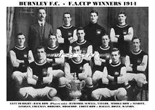 Burnley F.C. 1914 F.A. Cup Winners FA