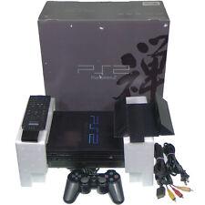 Sony PS2 SCPH-37000 Zen BLACK Ltd Console PlayStation 2 Japan Import Work NTSC-J