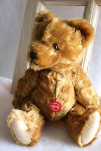 Hermann Teddybär mit Holzwolle und Stimme, ein toller klassik Teddybär 32 cm