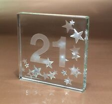 Happy 21st Birthday Gifts Idea Spaceform Glass Keepsake Great Gift Ideas 1607