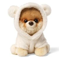 Gund 4037126 The Worlds Cutest Dog Itty Bitty Boo with Bear Suit Soft Plush Toy