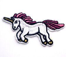 Unicorn Embroidered Iron Sew On Patch Applique Badge Motif pony horse Pegasus