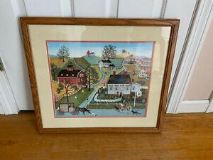 Linda Nelson Stocks Limited Edition Framed/Matted 1983 professionally framed