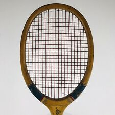 Wright & Ditson ALL AMERICAN Wooden Antique Tennis Racquet Racket VINTAGE