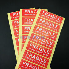 50pcs Handle With Care Fragile Label/Sticker Decal 75mm*25mm