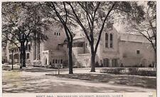 Scott Hall Evanston University EVANSTON ILLINOIS IL Vintae 1950 Postcard