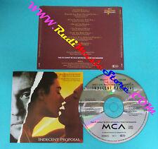 CD INDECENT PROPOSAL Soundtrack OST 17 john barry no mc lp vhs dvd(OST1*)