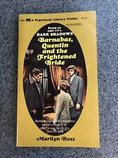 Barnabas Quentin And The Frightened Bride Marilyn Ross Dark Shadows Gothic 1970