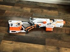 NERF Long Strike CS-6 N-Strike Rifle Snipper Gun White