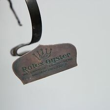 OLD ROLEX oyster stand display dealer ottone espositore vintage anni 50 60