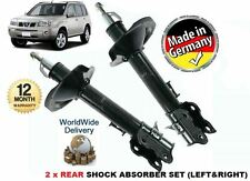 FOR NISSAN XTRAIL X TRAIL T30 2001-2007 2 x REAR LEFT & RIGHT SHOCK ABSORBER SET