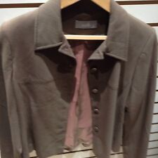 WALLIS LADIES JACKET SIZE 10 BEIGE