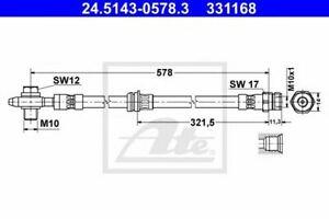 Flexible de frein VW TIGUAN (5N_) 4006633375061