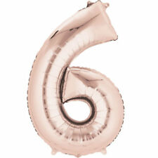Number Birthday Party Foil Balloons