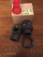 """CEPEX CPX22020VIT CHECK VALVE SOCKET 2"""" PVC  (t51)"""