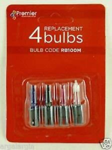 Pack Of 3 - Multi Colour Replacement Bulbs With 1 Fuse Bulb - 2.5v 0.33w (SB11)