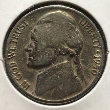 USA 1950 D Jefferson Nickel 5 Cent Denver Selten #10655