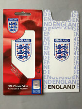 3-D PROTECTIVE SKIN FOR APPLE iPHONE 3 3GS - OFFICIAL FA 3 LIONS ENGLAND DESIGN