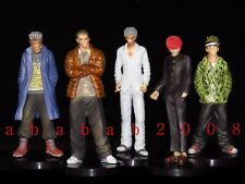 Organic King of Swanky Boys trading figure Gang king (full set 5 pcs with boxes)