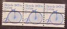 Scott 1901a - 5.9 Cents Bicycle - MNH - Strip Of 3 - PN #3 - SCV - $10.00