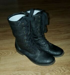Women Size 10 Mossimo Supply Combat Type Boots