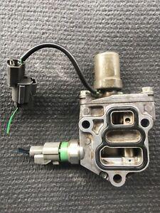 1996-2000 Honda Civic EX D16Y8 Vtec Solenoid Oil Pressure Switch Spool Valve OEM