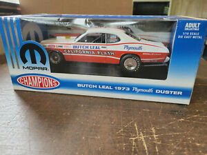 RC2/MIC MOPAR CHAMPIONS 1973 Plymouth Duster Butch Leal 1/18th scale #29333P