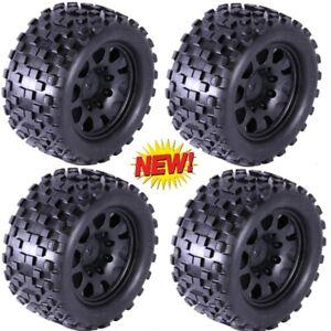 Powerhobby SCORPION XL Belted Tires / Viper Wheels (4) Traxxas X-Maxx 8S 24MM
