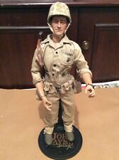 "MINRFB*SIDESHOW*JOHN*WAYNE*as a PACIFIC MARINE*WW2*1/6*12""*FIGURE*COLLECTIBLE*"