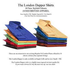 Mens Plain Formal,Casual,Business Everyday Long Sleeve Shirts 10 Stylish Colours