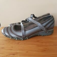 Skechers Size 11 Youth Grey Ballet Flats