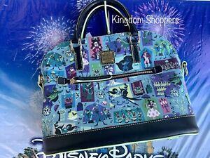 2020 Disney Parks Dooney & Bourke Haunted Mansion Satchel Purse Exact