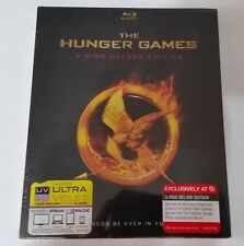 The Hunger Games 3 DISC DELUXE EDITION BLU RAY, NEW
