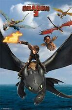 2013 DREAMWORKS HOW TO TRAIN YOUR DRAGON 2 FLIGHT POSTER 22X34 NEW FREE SHIPPING