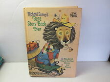 Vintage Richard Scarry's Best Story Book Ever A Golden Book 1968 hardcover