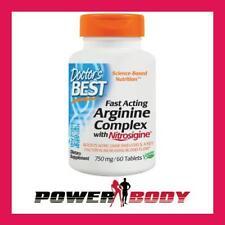 Doctor's Best - Fast Acting Arginine Complex with Nitrosigine, 750mg - 60 tabs