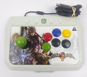 Rare Soul Calibur IV Hori Arcade Fight Stick Xbox 360 White