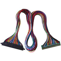 Full 56 Pin 100cm Length Jamma Harness For Arcade Cabinet Wire / Wireless Loom
