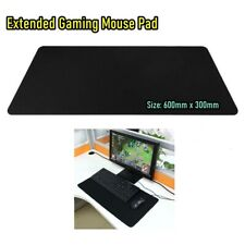 New Extra Large Size Gaming Mouse Pad Desktop Keyboard Mat 600MM X 300MM Black