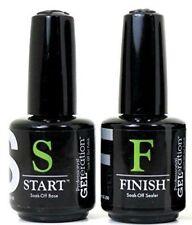 Jessica GeLeration Soak Off Gel Start & Finish Top + Base Duo 2pcs On Sale!
