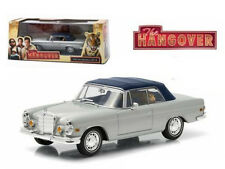 """1969 MERCEDES 280 SE DAMAGED WITH TIGER """"THE HANGOVER"""" 1/43 GREENLIGHT 86462"""