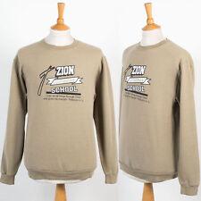 Retro Vintage sudadera Jumper Sweater sión Luterana Escuela religiosos 4:13 M